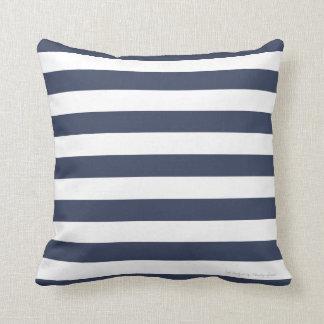 Classic Stripe Pillow in Nautical Navy/White Throw Pillow