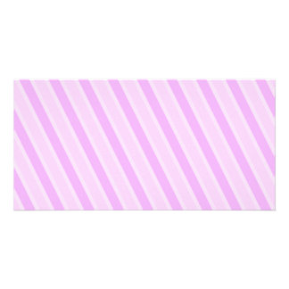 Classic Stripes Pink Candy girly backgrounds Card