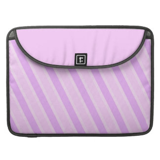 Classic Stripes Pink Candy girly backgrounds MacBook Pro Sleeves