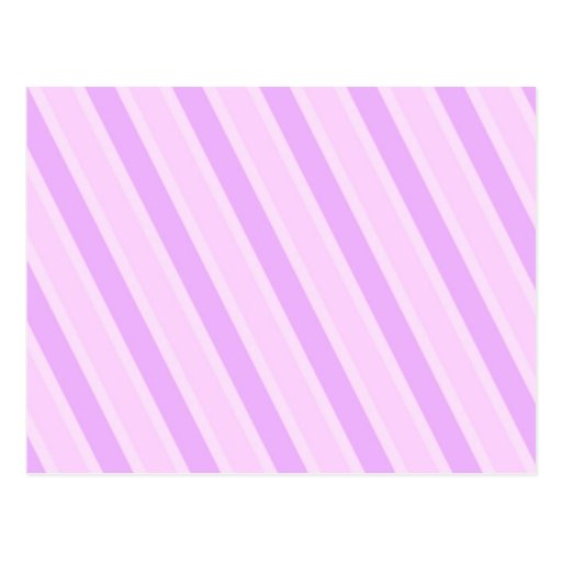 Classic Stripes Pink Candy girly backgrounds Post Card