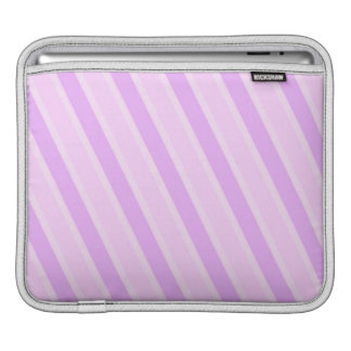 Classic Stripes Pink Candy girly backgrounds Sleeve For iPads