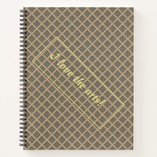 Classic Strong Large Digital Pattern  Notebook