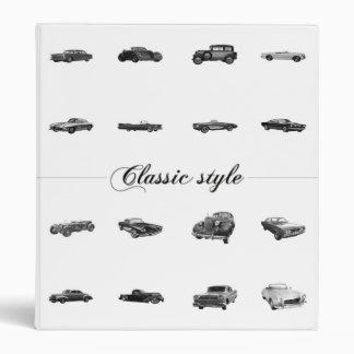 Classic style binder