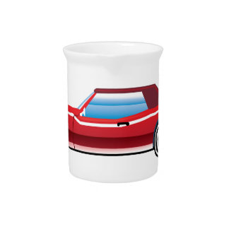 Classic style old vehicle vector clip-art drink pitcher