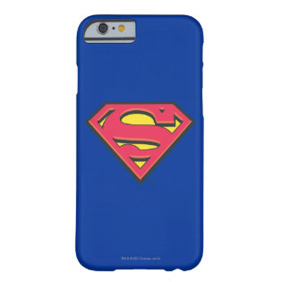 Classic Superman Logo Barely There iPhone 6 Case