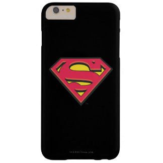 Classic Superman Logo Barely There iPhone 6 Plus Case
