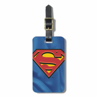 Classic Superman Logo Tags For Luggage