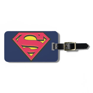 Classic Superman Logo Travel Bag Tag