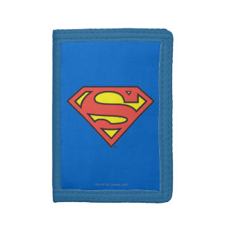 Classic Superman Logo Trifold Wallets