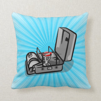 Classic Swedish Camping Stove Throw Pillow