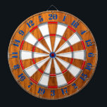 "Classic Teak Veneer Print Nautical Game of Darts Dartboard<br><div class=""desc"">A colorful dart board for yourself or for someone special on your list to enjoy. Here&#39;s a selection of fine custom nautical style embroidered baseball caps you can personalize easily. Use the &quot;Ask this Designer&quot; link to contact us with your special design requests or for some assistance with any of...</div>"