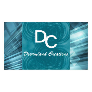Classic Teal Business Cards