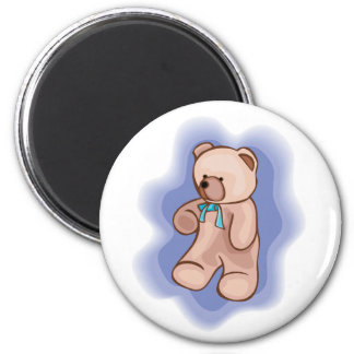 Classic Teddy Bear 2 Inch Round Magnet