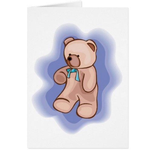 Classic Teddy Bear Card