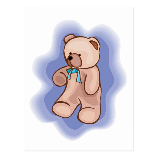 Classic Teddy Bear Postcard
