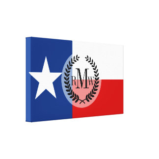 Classic Texas State Flag Canvas Print