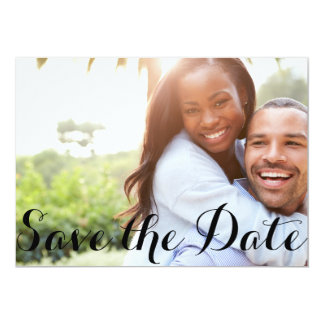 Classic Text | Save the Date Postcard