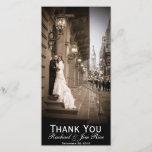 """Classic Thank You Card<br><div class=""""desc"""">Classic designed thank you wedding card.</div>"""