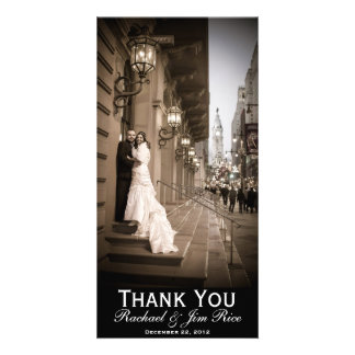 Classic Thank You Card Photo Card