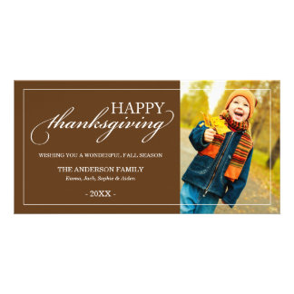 CLASSIC THANKSGIVING | FALL PHOTO CARD