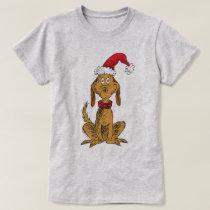 Classic The Grinch | Max - Santa Hat T-Shirt