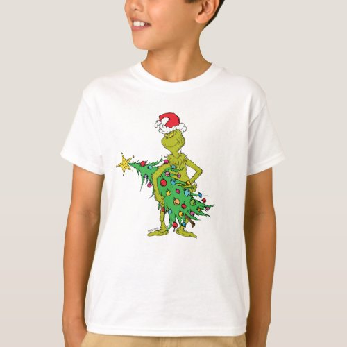 Classic The Grinch  Naughty T_Shirt