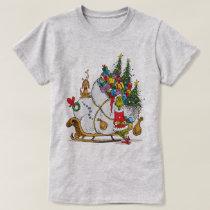 Classic The Grinch | The Grinch & Max Runaway Slei T-Shirt