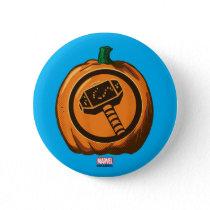 Classic Thor Logo Jack-o-lantern Button