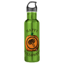 Classic Thor Logo Jack-o-lantern Stainless Steel Water Bottle