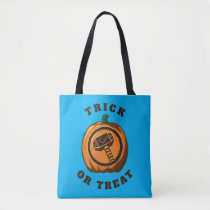 Classic Thor Logo Jack-o-lantern Tote Bag