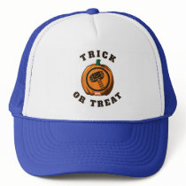 Classic Thor Logo Jack-o-lantern Trucker Hat