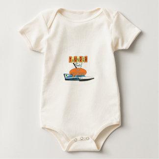 Classic Thunderboats Baby Bodysuit