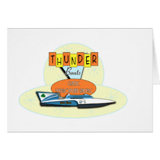 Classic Thunderboats Card