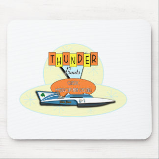 Classic Thunderboats Mouse Pad