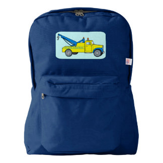 Classic Tow Truck American Apparel™ Backpack