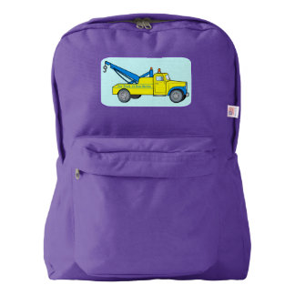 Classic Tow Truck Backpack