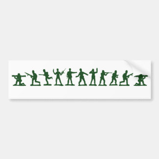 Classic Toy Soldiers Bumper Sticker
