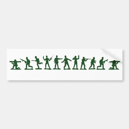Classic Toy Soldiers Car Bumper Sticker