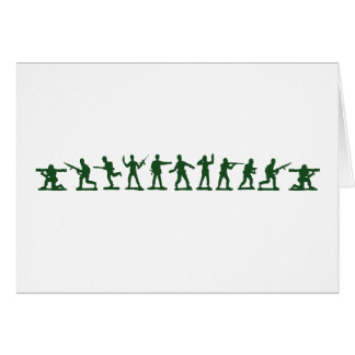 Classic Toy Soldiers Greeting Cards