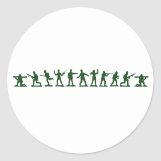 Classic Toy Soldiers Classic Round Sticker
