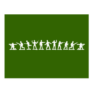 Classic Toy Soldiers Postcard