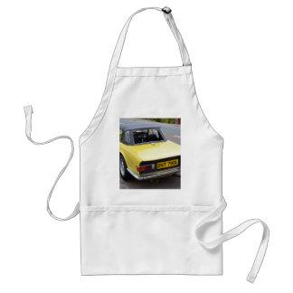 Classic TR6 Triumph Sportscar Adult Apron