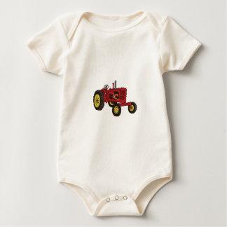 Classic Tractor 1 Baby Bodysuit