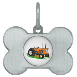 Classic Tractor 1 Pet Name Tag