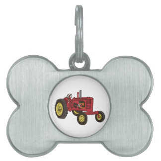 Classic Tractor 1 Pet Tag