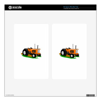 Classic Tractor 1 Skins For Kindle Fire