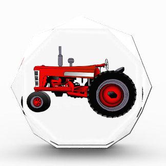 Classic Tractor Acrylic Award