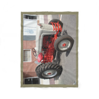 Classic Tractor Fleece Blanket