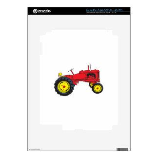 Classic Tractor iPad 3 Decal