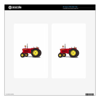 Classic tractor kindle fire skin